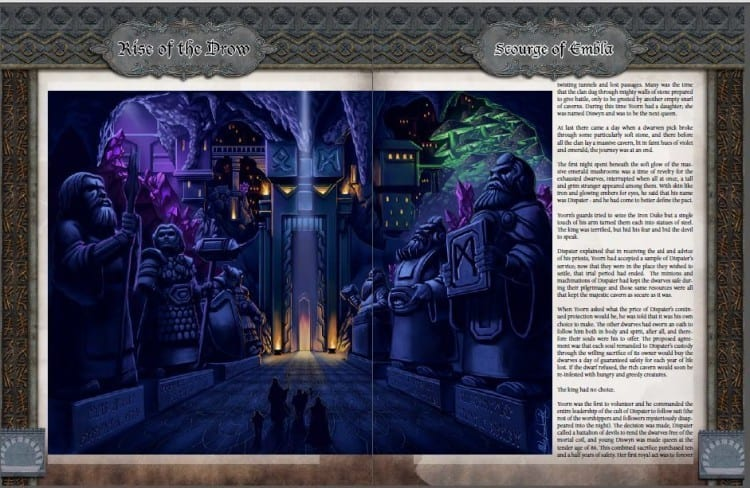 Rise of the Drow PDF demo