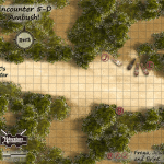 Encounter 5-D Ambush GM Map
