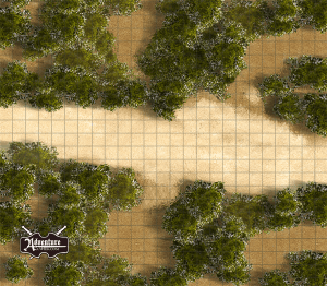 Encounter 5-D and 7-C Player Map