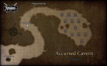 Redemption sidequest map - accursed cavern - JAM