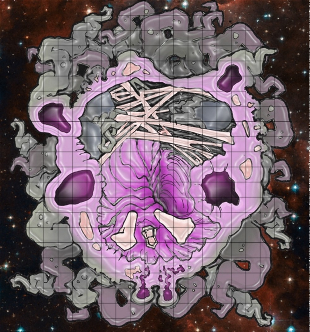 inside the dead god's brain map