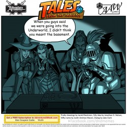 Caption for Tales from the Tabletop #39.