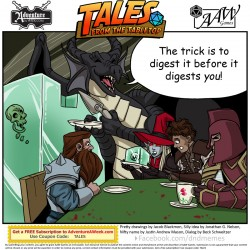 Caption for Tales from the Tabletop #43.