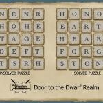 Dwarven Puzzle