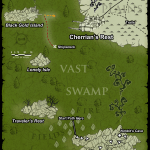 Map of Vast Swamp