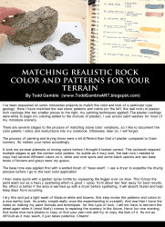 Matching-realistic-rock-patterns-and-colors-in-model-scenery-terrain
