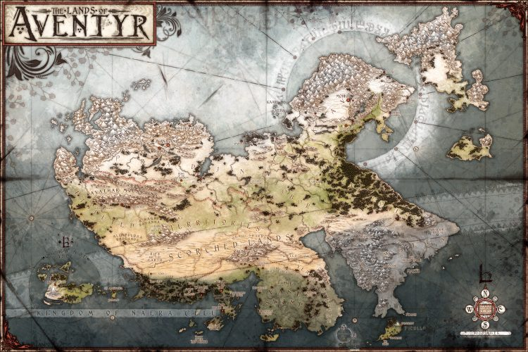 Aventyr Campaign Setting - low res