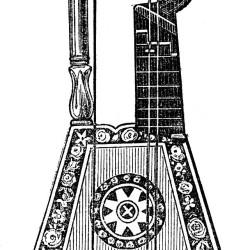 Harp-Lute