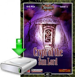 Log in and download Crypt of the Sun Lord NOW!