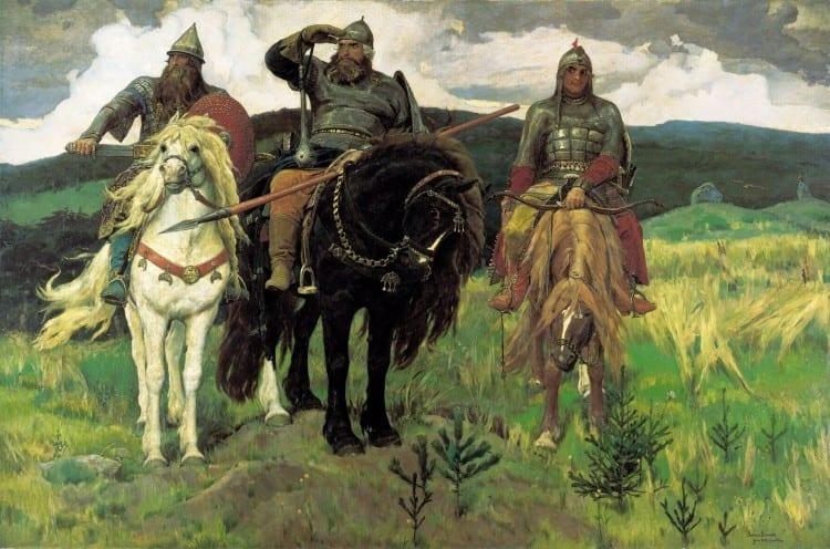 Warriors-on-horseback