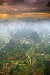 Distant Farmlands