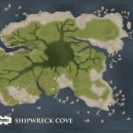 Shipwreck Cove Players Map