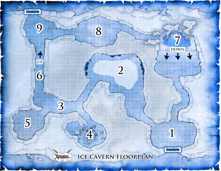 GMice cave map