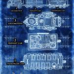 GMtrain map