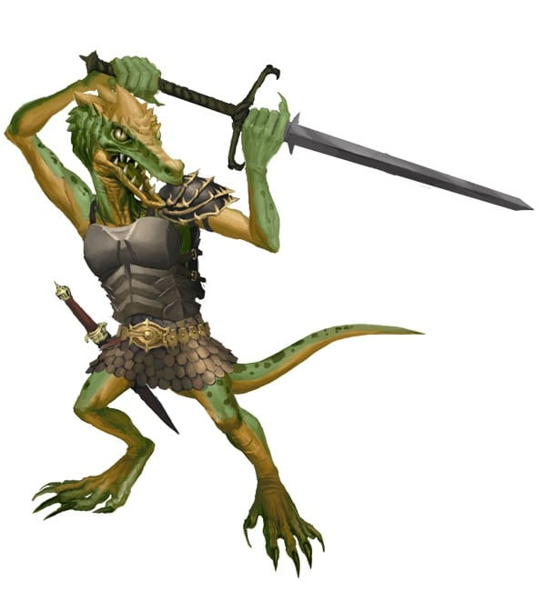Kobold with sword