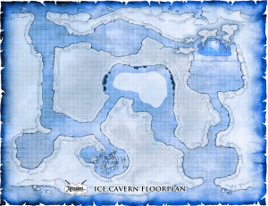 PLAYERSice cave map