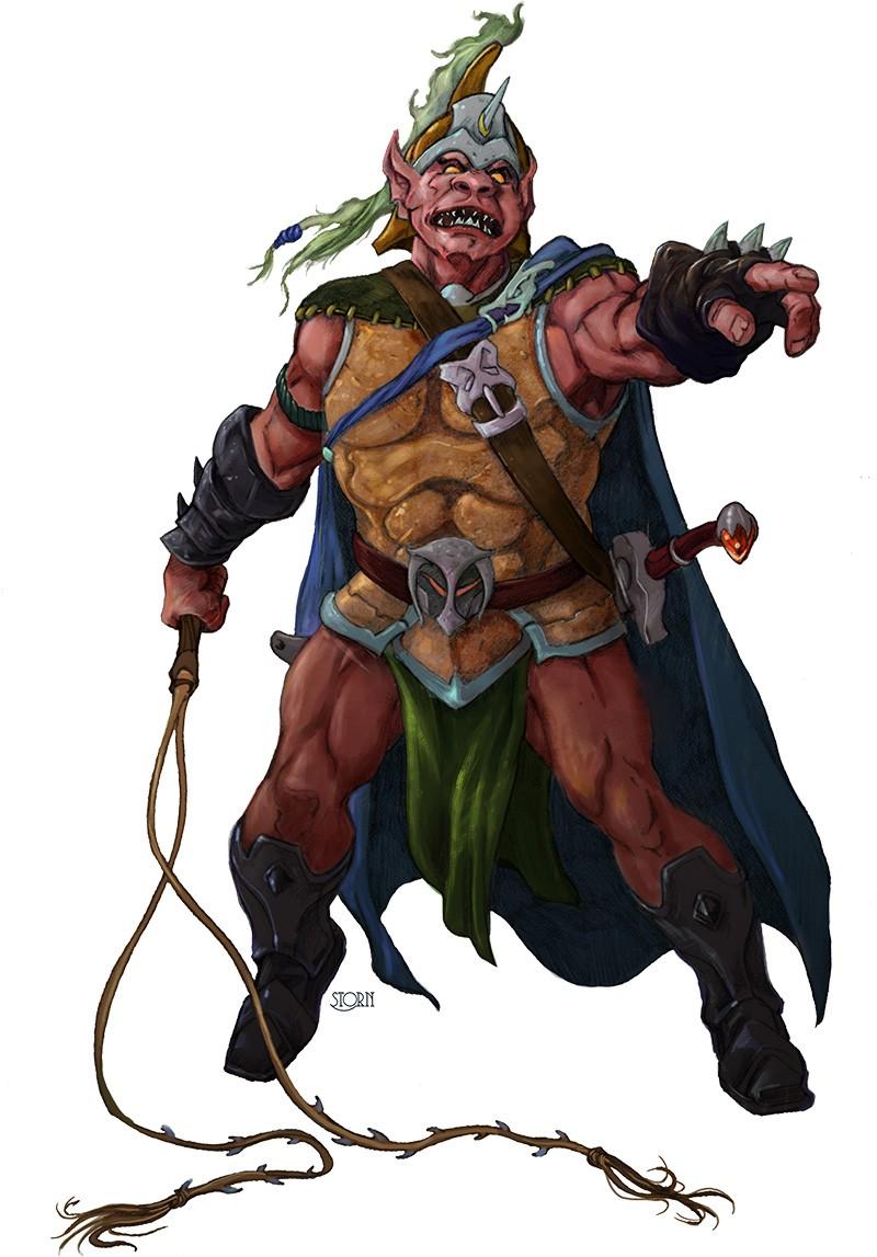 Pathfinder Hobgoblin Monk A Design Exercise in 4...
