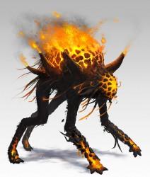 Creature 7 Othnorian Firewalker