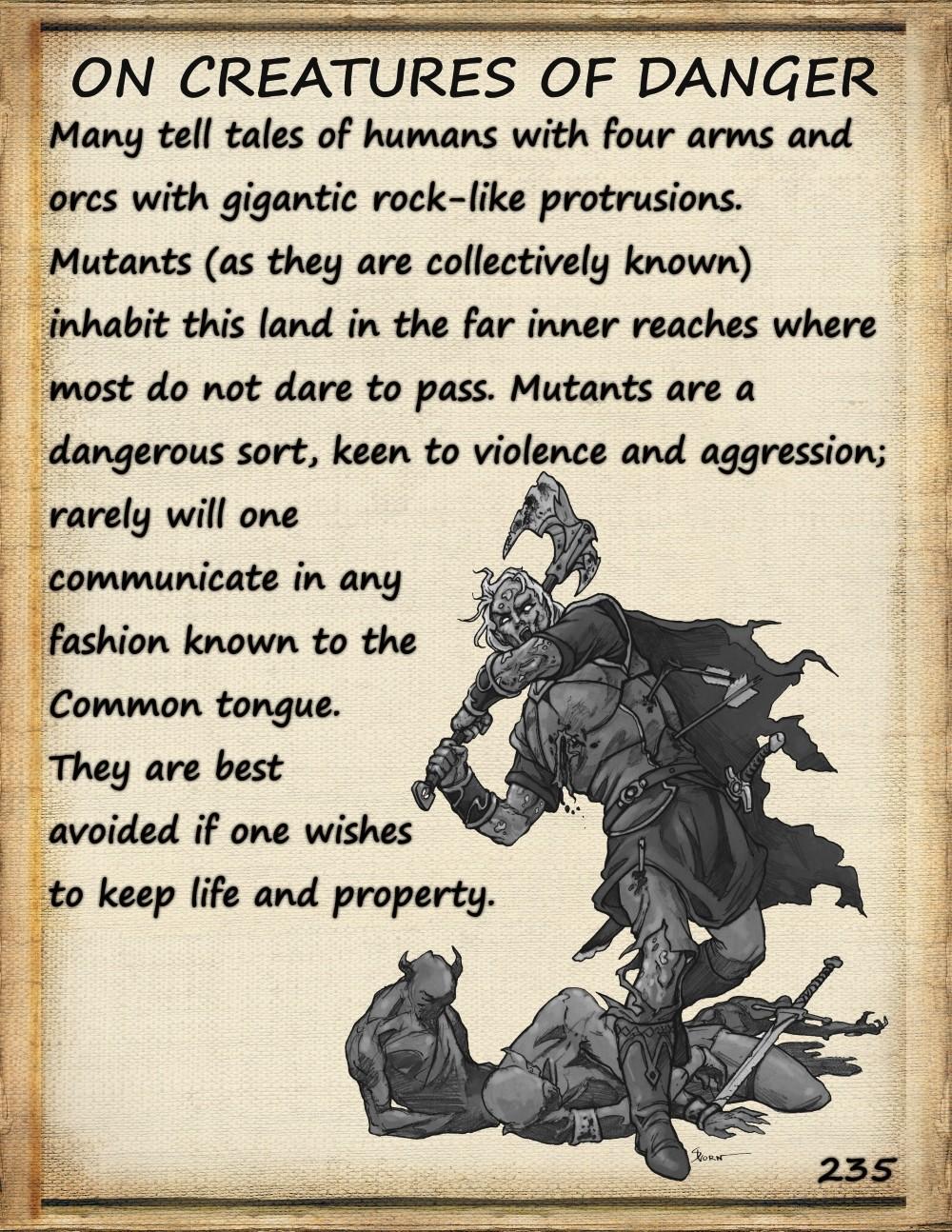 pilgrim's guide dangerous creatures