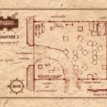 Encounter 2 - Sculpture Studio - Player Map - VTT - half page landscape