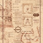 Encounters 3 and 4 - South Tower - GM MAP - full page-portrait