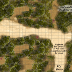 Encounter 5-C Bugbear Raiders GM Map