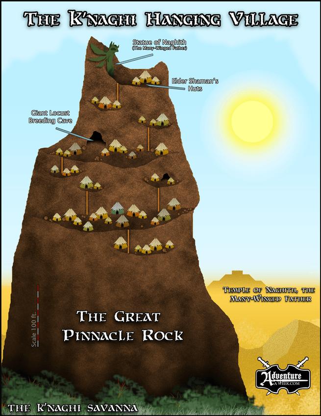 Great Pinnacle Rock