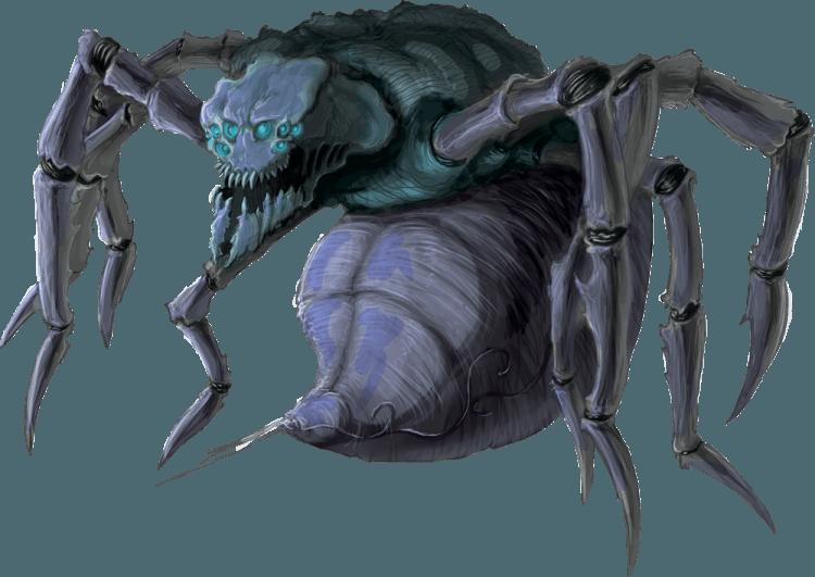 Cold Ogre Spider - Ramon Lucha