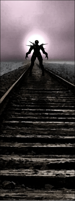 demon on the rails