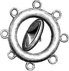 crystal compass