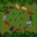 AAW Ruins of Gilead Campsite Map (Player)