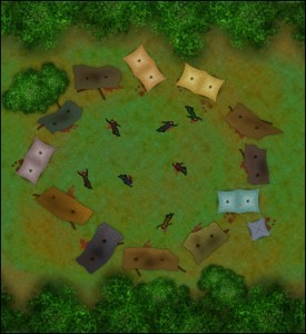 AAW Ruins of Gilead Campsite Map (VTT)
