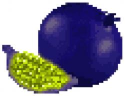 cursed black pomegranate