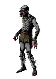 ghoul zombie (doc fell army) ramon lucha