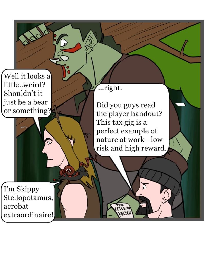 Adventurer's Weekly #2 - panel 2
