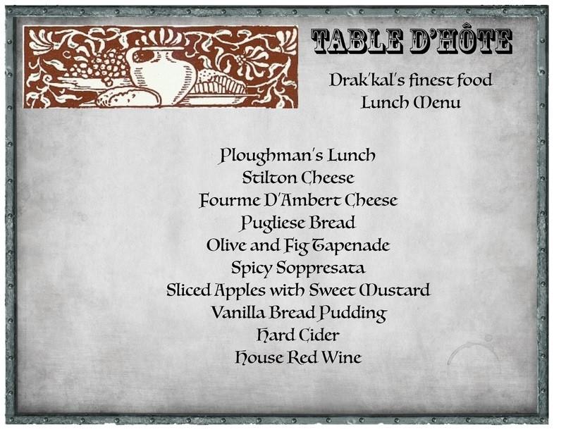 Table d'hôte 2