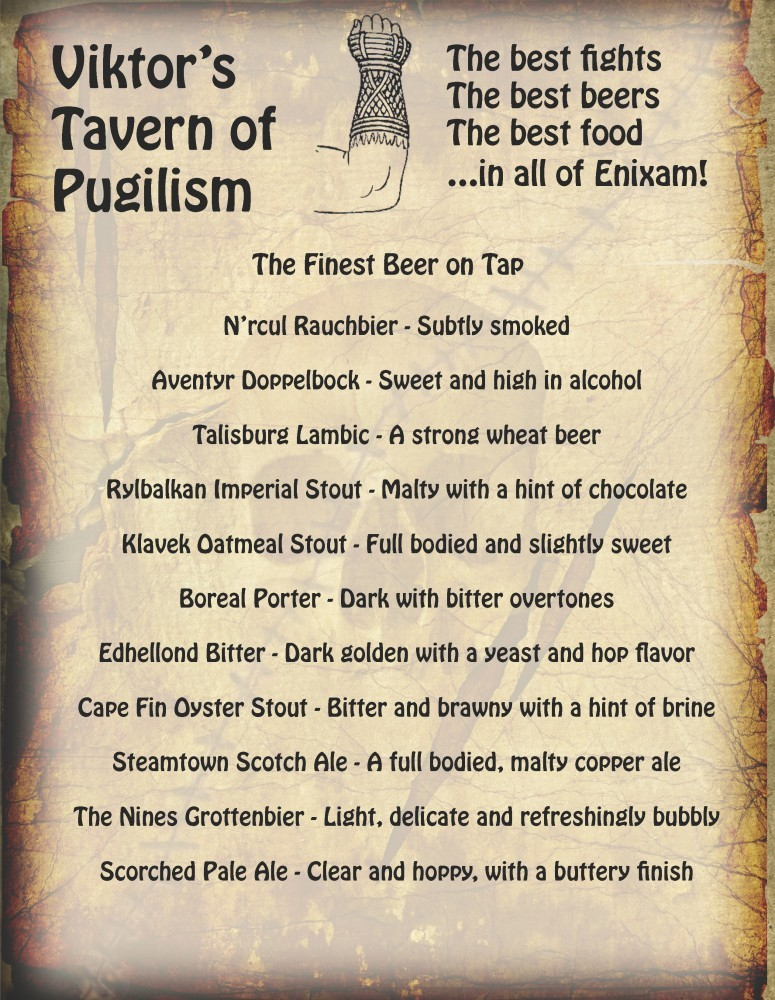 Viktor's Tavern of Pugilism 1