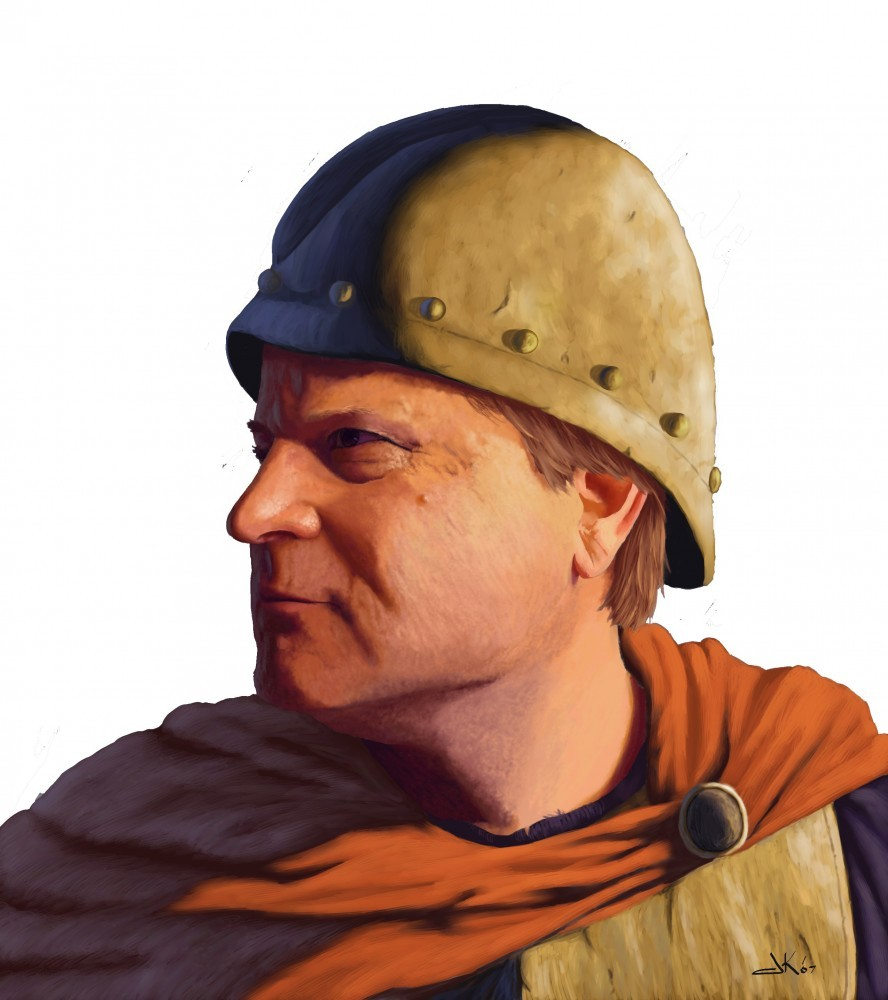 rabblerouser - Captain of the guard Final - rick hershey