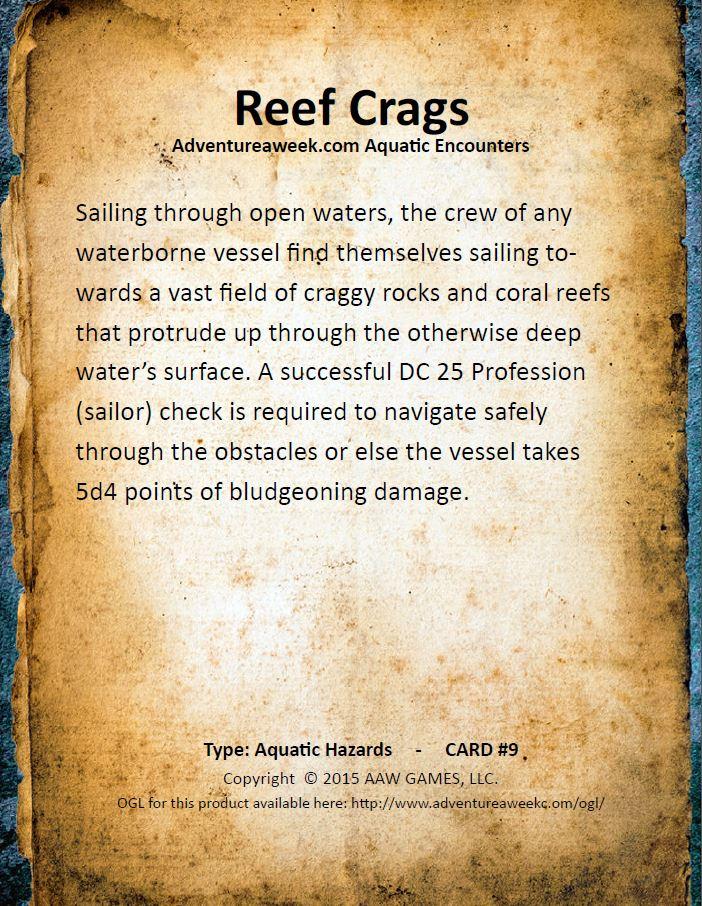aquatic encounter deck 9