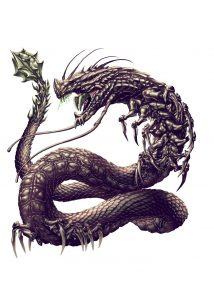 Snaketipede