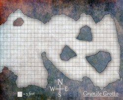 granite grotto map
