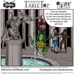 Winning Caption for Tales from the Tabletop #28.