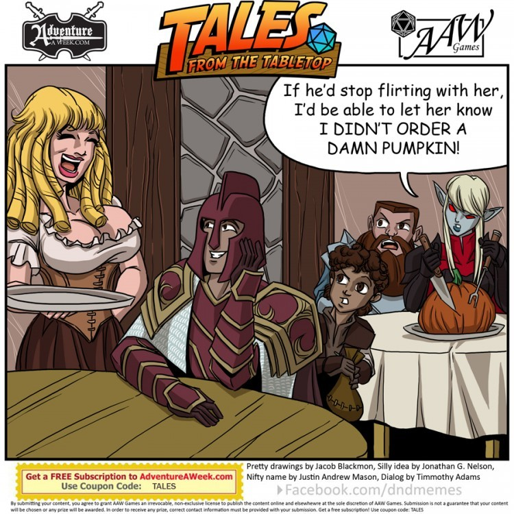 Caption for Tales from the Tabletop #41.