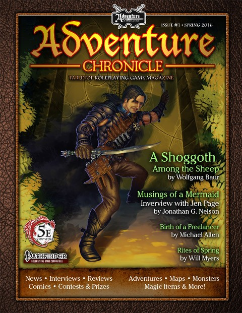 Adventure Chronicle Magazine