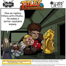Caption for Tales from the Tabletop #48.