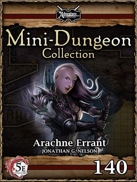 5E Mini Dungeon 140 Arachne Errant image