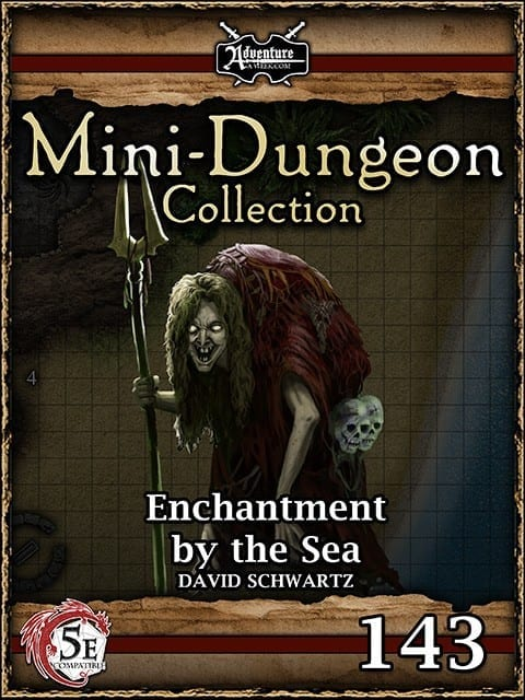 5E Mini Dungeon 143 Enchantment By The Sea image