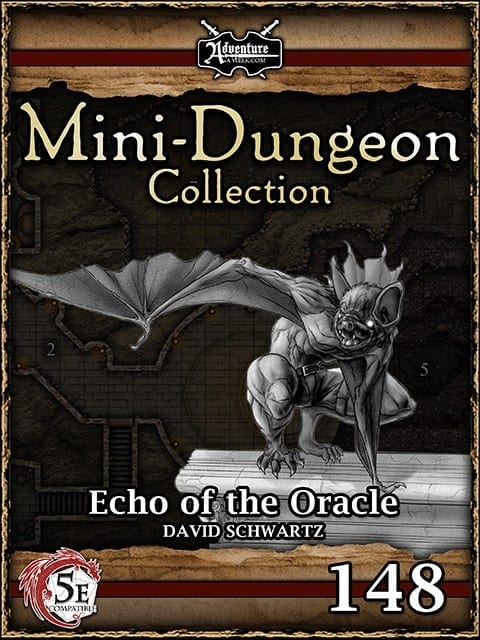 5E Mini Dungeon 148 Echo Of The Oracle image